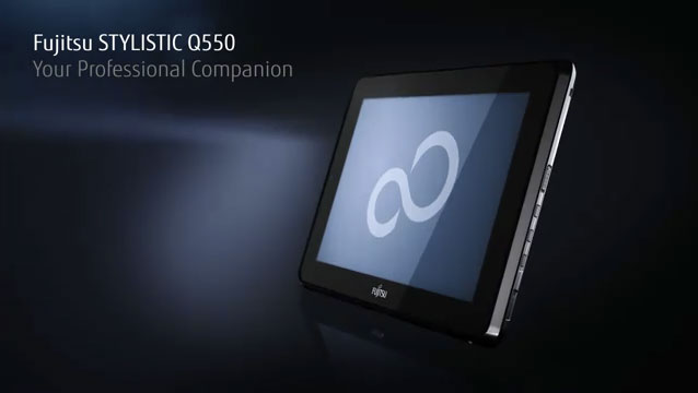 La tablette Fujitsu Stylistic Q550 disponible en France