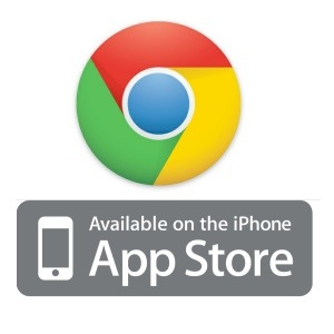 Chrome disponible sur l'App Store