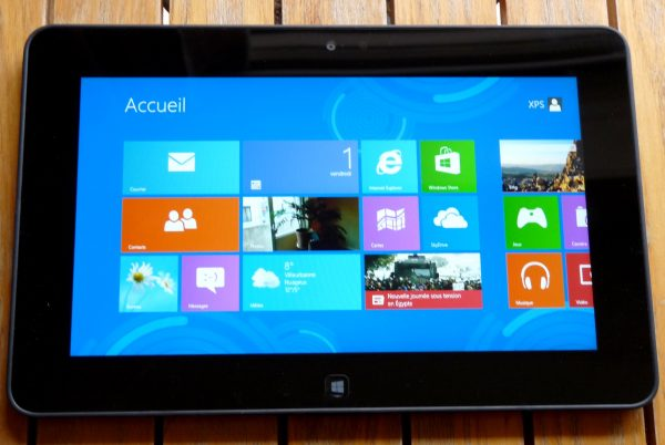 test de la dell latitude 10 sous windows 8. Black Bedroom Furniture Sets. Home Design Ideas