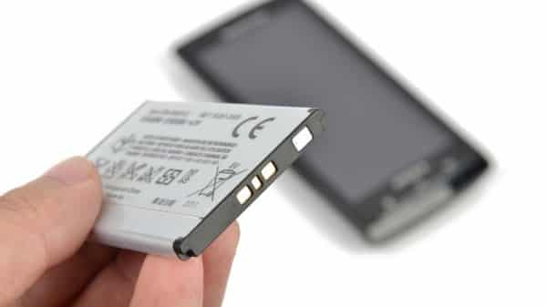 Smart phone and batteries