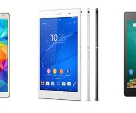 Comparatif : Xperia Z3 Tablet Compact vs Galaxy Tab S 8.4 vs Nexus 9