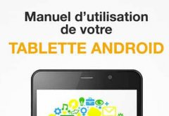 Mode emploi tablette Android