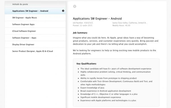 installer une application ios sur android