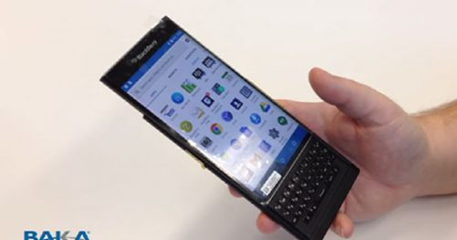 BlackBerry Venice Sous Android