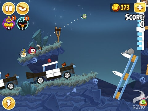 Angry Birds seasons HD iOS