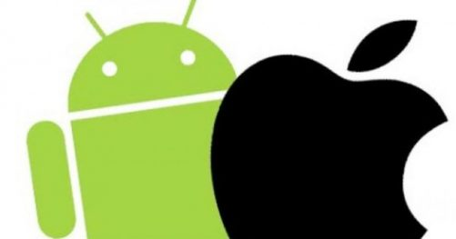 Logo Apple et android