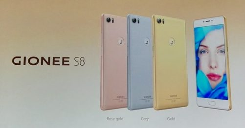 phablette Gionee S8
