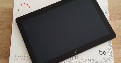 Test de la tablette M10 Ubuntu Edition