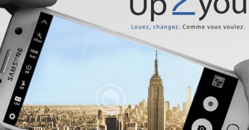 up2you service location smartphone