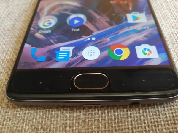 Oneplus 3 bouton face