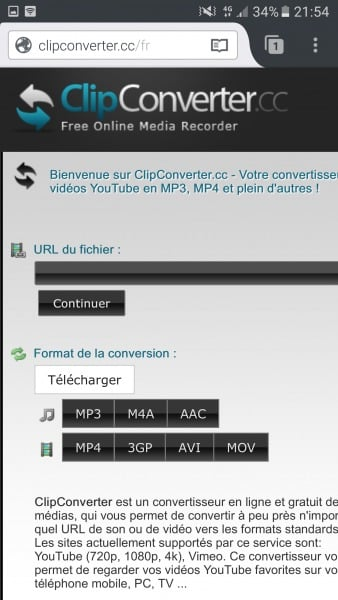 tutoriel comment t l charger des vid os youtube sur android. Black Bedroom Furniture Sets. Home Design Ideas