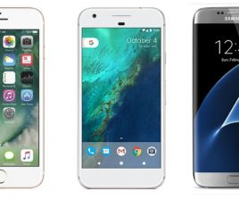 Pixel XL vs iPhone 7 Plus vs Samsung Galaxy S7 Edge : le comparatif des géants
