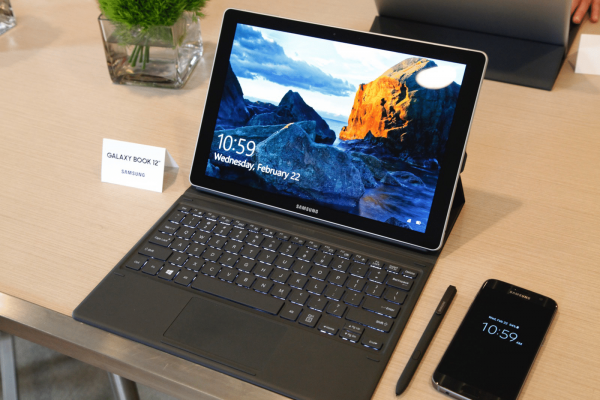 Samsung Galaxy Book et son clavier