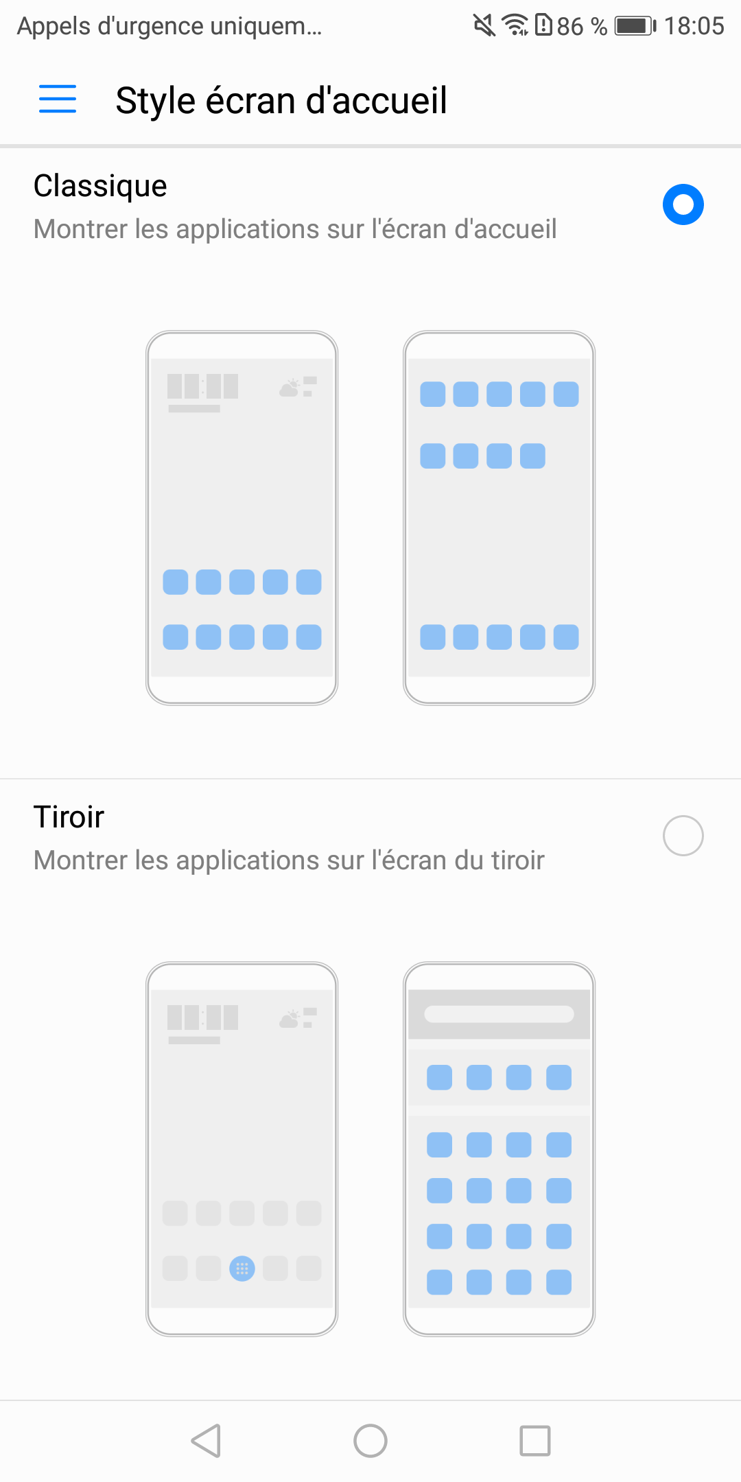 Personnalisation Honor 7X