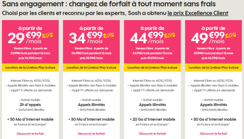 comparatif des meilleures offres internet adsl fibre sans engagement. Black Bedroom Furniture Sets. Home Design Ideas