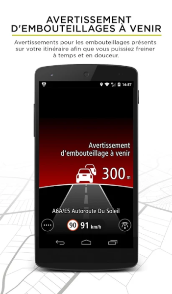 Application conduite TomTom