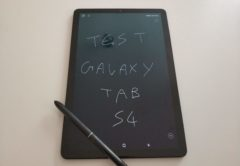Test complet Samsung Galaxy Tab S4