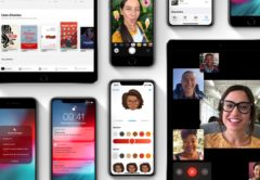 iOS 12 sur iphone et iPad Pro